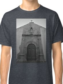 Church of Misericordia Facade in Tavira Classic T-Shirt