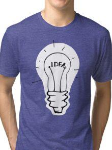 Idea lamp Tri-blend T-Shirt