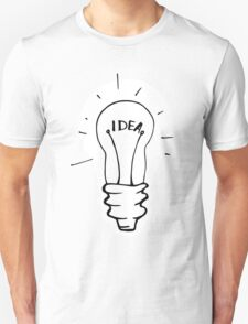 Idea lamp Unisex T-Shirt