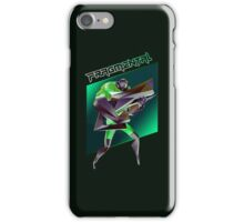 FRAGMENTAL GREEN CHARACTER BY RUFFIAN GAMES iPhone Case/Skin