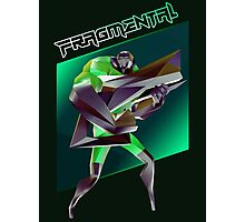 FRAGMENTAL GREEN CHARACTER BY RUFFIAN GAMES Photographic Print