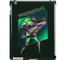FRAGMENTAL GREEN CHARACTER BY RUFFIAN GAMES iPad Case/Skin