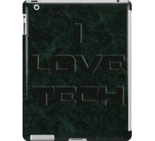 I Love Tech iPad Case/Skin