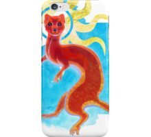 Enlightenment Weasel iPhone Case/Skin