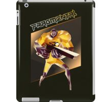 FRAGMENTAL ORANGE CHARACTER BY RUFFIAN GAMES iPad Case/Skin