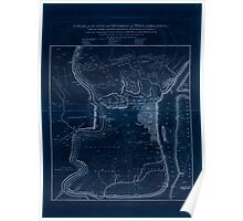 American Revolutionary War Era Maps 1750-1786 221 A plan of the city and environs of Philadelphia  with the works and encampments of His Majesty's forces Inverted Poster
