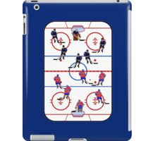 Pixel Art Hockey Rink iPad Case/Skin