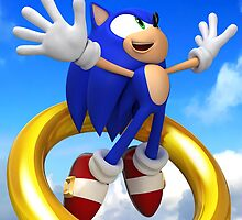 sonic and the leap of liminality by crusselrow