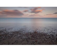 shingle shore, stonehaven Photographic Print