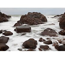 reclaiming the rocks Photographic Print
