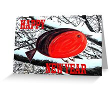 HAPPY NEW YEAR 16 Greeting Card