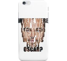 And the Oscars go to... iPhone Case/Skin