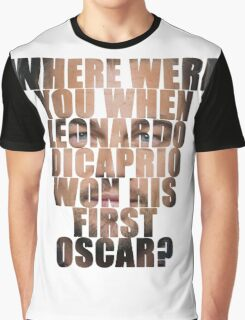 And the Oscars go to... Graphic T-Shirt
