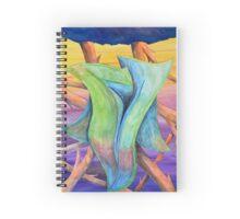 Untitled - jungle landscape Spiral Notebook