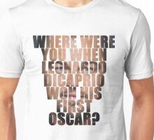 And the Oscars go to... Unisex T-Shirt