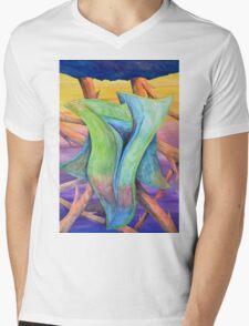 Untitled - jungle landscape Mens V-Neck T-Shirt
