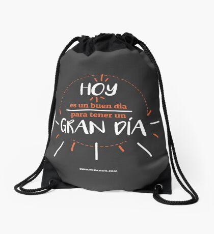 CZN. - Hoy es un buen día para tener un GRAN día Drawstring Bag