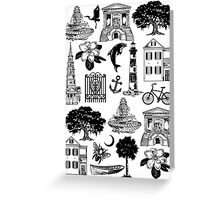 Charleston Style  Greeting Card