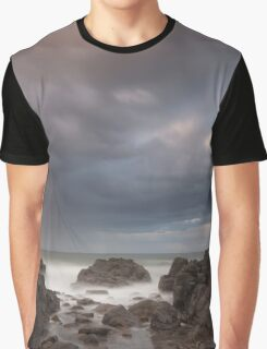 storm at sunset Graphic T-Shirt