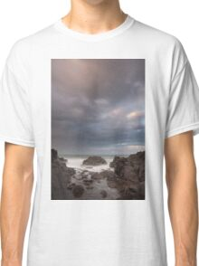 storm at sunset Classic T-Shirt
