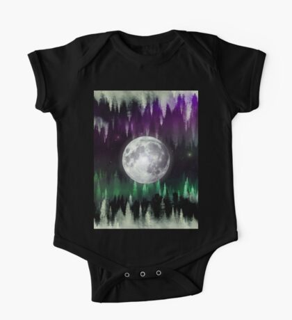 Dreaming under the northern lights One Piece - Short Sleeve