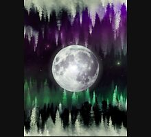 Dreaming under the northern lights Unisex T-Shirt