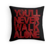 Liverpool YNWA Throw Pillow