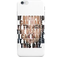 Another day, another loss iPhone Case/Skin
