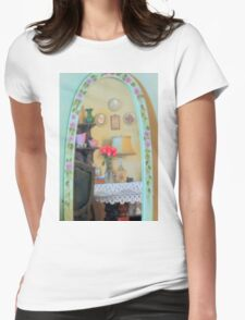 Mirror Mirror On The Wall Womens Fitted T-Shirt