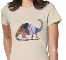 brontosaurus Womens Fitted T-Shirt