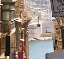 Valletta - Between The Baroque Sticker