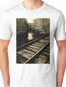 if you feel sad sometimes..caught in bad vibrations..it seems you've lost your drive and destination..catch the train of better times...as soon as the good times roll T-Shirt