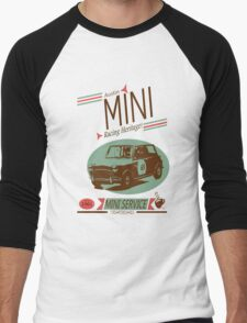 Austin Mini Retro Style Men's Baseball ¾ T-Shirt