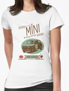 Austin Mini Retro Style Womens Fitted T-Shirt