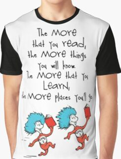 Read Across America Day 2016 Graphic T-Shirt