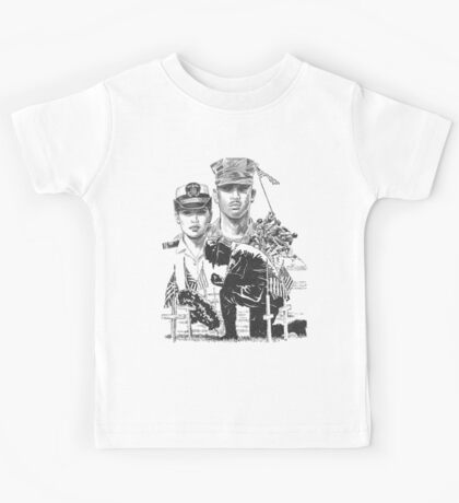 United States Armed Forces Kids Tee