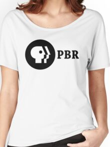 PBR (PBS Parody) Women's Relaxed Fit T-Shirt