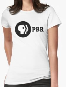 PBR (PBS Parody) Womens Fitted T-Shirt