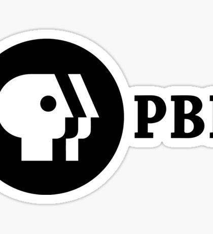 PBR (PBS Parody) Sticker