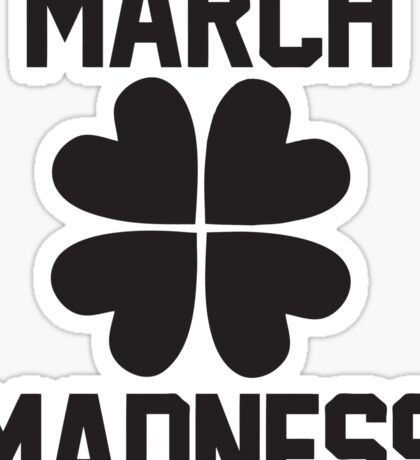 March Madness - St. Patrick's Day Sticker