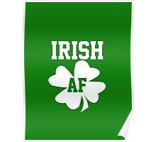 Irish AF Poster