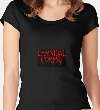 Cannibal Corpse apparel and phone cases Women's Fitted Scoop T-Shirt