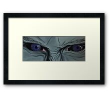 The Muse's Eyes (Colour) Framed Print