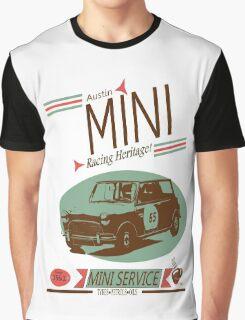 Austin Mini Retro Style Graphic T-Shirt