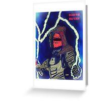 Darth Revan - Dark Lord  Greeting Card