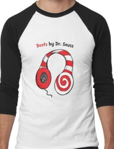 Beats by Dr Seuss - Read Across America Day Men's Baseball ¾ T-Shirt
