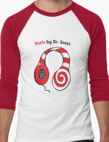 Beats by Dr Seuss - Read Across America Day Men's Baseball ¾ T-Shirt