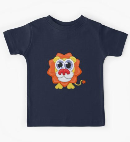 Cartoon lion Kids Tee