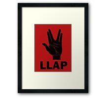 LLAP - Star Trek Fans Framed Print