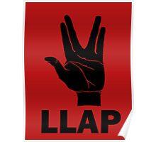 LLAP - Star Trek Fans Poster